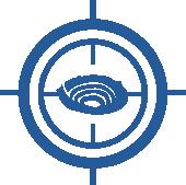 Critical and strategic monitoring icon